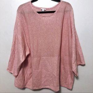 J. Jill purejill kimono sleeve sweater pink